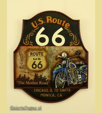 Emblemat Roud 66