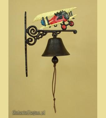 Dzwonek z samolotem