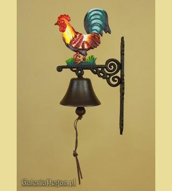 Dzwonek z kogutem