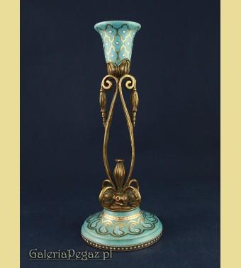 Secesyjny świecznik