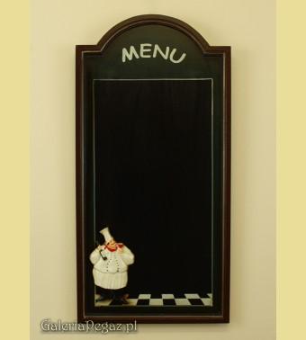 Tablica na menu