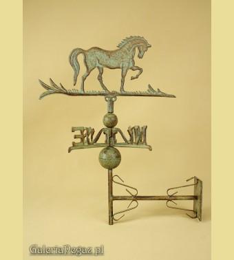 Wiatrowskaz z koniem