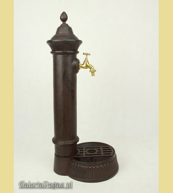 Aluminowy zlew - hydrant