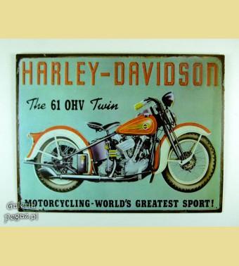 HARLEY DAVIDSON 61 OHV twin