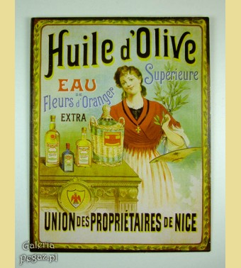 Oliwa z oliwek - reklama wytwórni