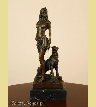 Egipcjanka z pumą