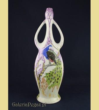 Secesyjny porcelanowy wazon