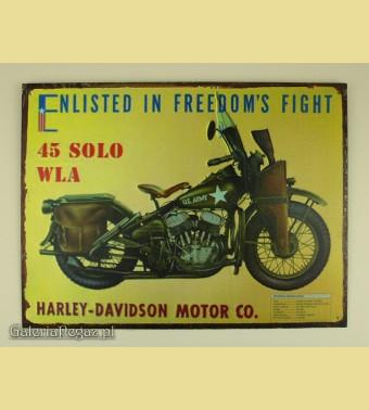 Harley Daidson 45 SOLO WLA