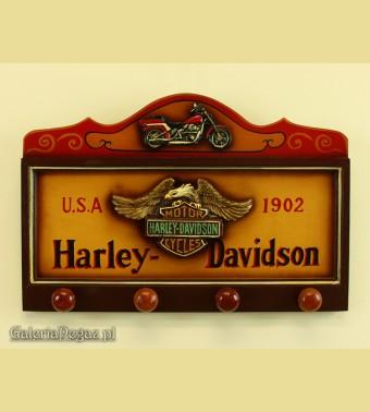 Wieszak z logo Harleya Davidsona