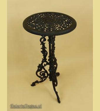 Żeliwny ażurowy stolik