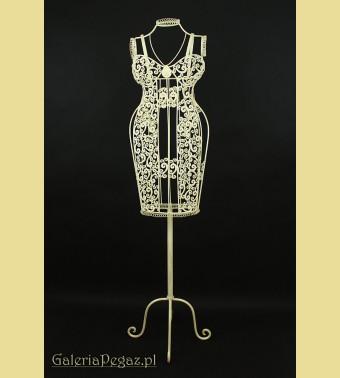 Dekorowany damski manekin wystawowy