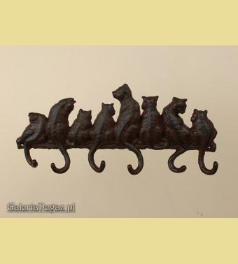 Koty na piecu