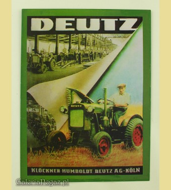 Traktor Deutz F1M 414