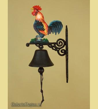 Żliwny dzwonek z kogutem