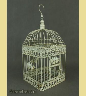 Klatka dla ptaków - kwietnik