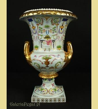 Porcelanowy puchar