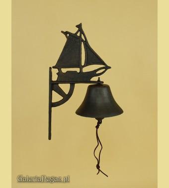 Dzwonek z żaglówką