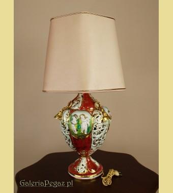 Porcelanowa lampka nocna