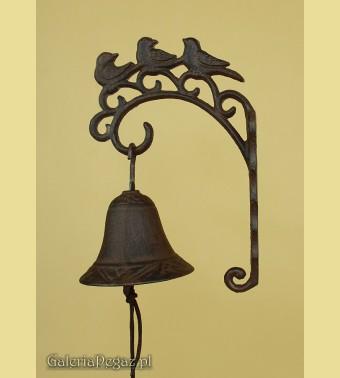 Dzwonek z ptakami