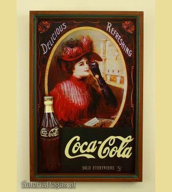 Szyld Coca-Cola