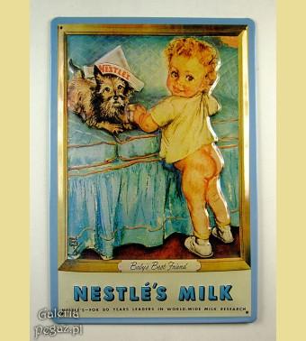 Nestle - mała dziewczynka