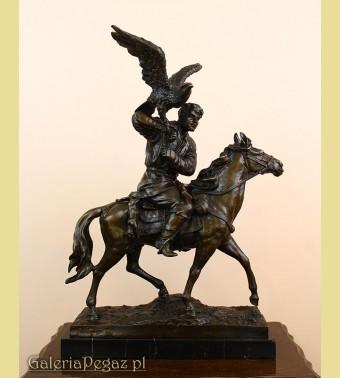 Sokolnik na koniu