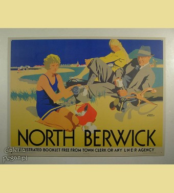 Plakat North Berwick