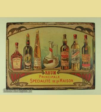 Butelki rumu