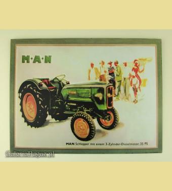 Ciągnik rolniczy MAN