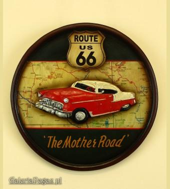 Cadillac - szyld retro
